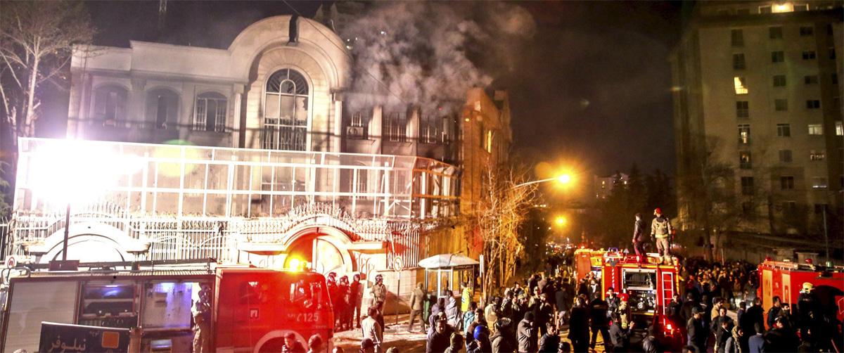 حمله-به-سفارت-عربستان-در-مشهد